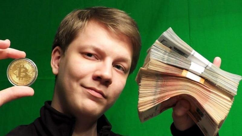В Петербурге ограбили криптоблогера Павла Няшина