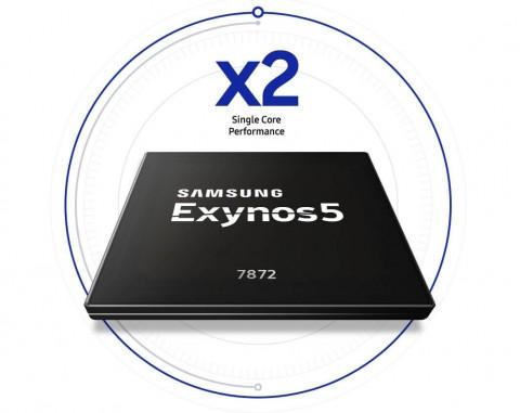 Шестиядерный Samsung Exynos 5 (7872) стал вдвое мощнее предшественника
