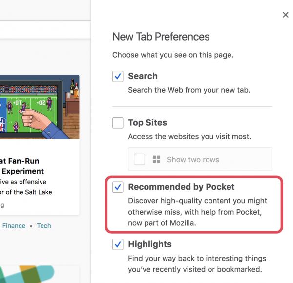 Firefox возвращается к эксперименту с показом рекламы на новых вкладках