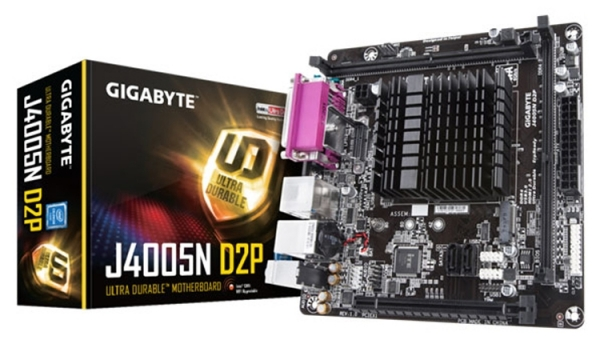 GIGABYTE готовит компактные платы с процессором Intel Gemini Lake