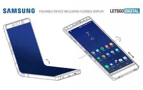 Сгибаемый смартфон Samsung показали за закрытыми дверями на CES 2018