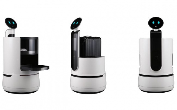 LG пополнила линейку роботов для отелей и супермаркетов