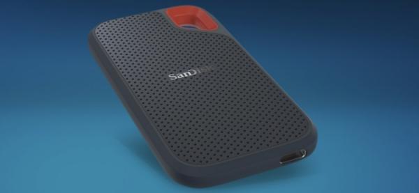 Накопитель SanDisk Extreme Portable SSD обладает вместимостью до 2 Тбайт