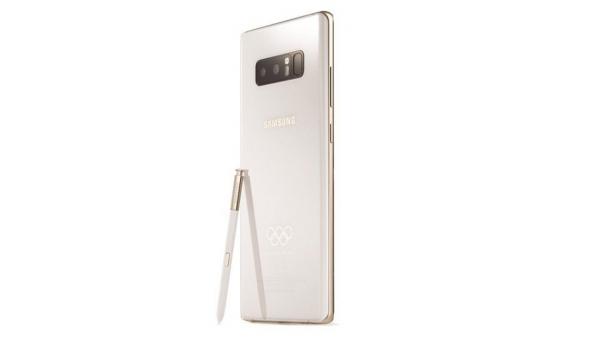 Samsung опять копирует Apple, показав олимпийскую версию Note 8