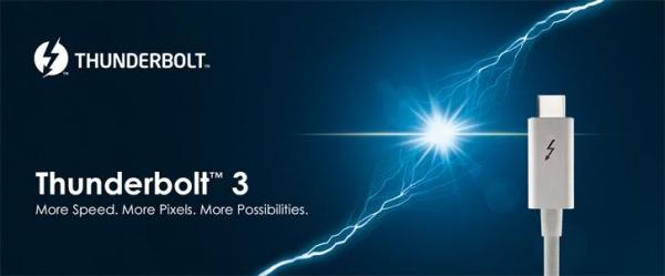 Новые контроллеры Intel Thunderbolt 3 получили поддержку DisplayPort 1.4
