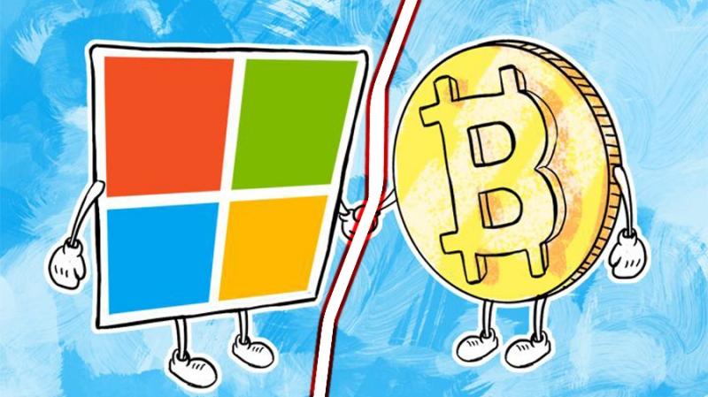Корпорация Microsoft перестала принимать прямые платежи в биткоинах