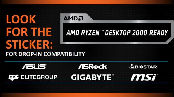 AMD Ryzen 2000: как опознать совместимую материнскую плату