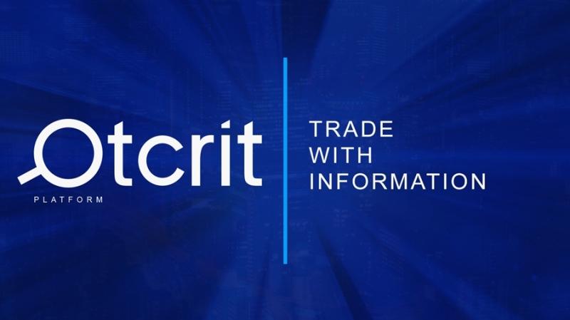 Торговая и аналитическая платформа Otcrit готовится к токенсейлу