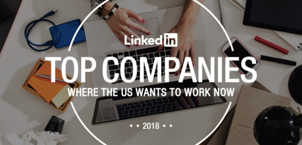 Лучшие работодатели США 2018 по версии LinkedIn
