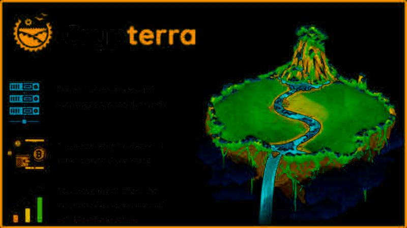 Проект Crypterra запускает ICO для создания независимой инфраструктуры для криптовалют