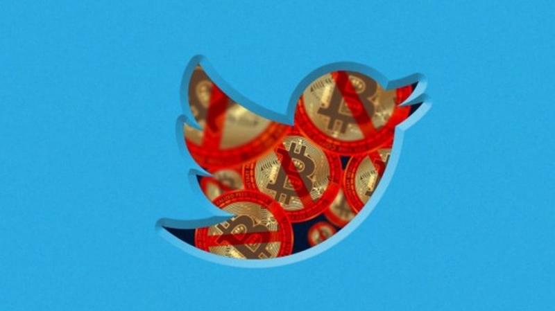 Twitter присоединяется к запрету рекламы криптовалют