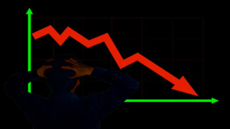 Рецессия в блокчейне: количество транзакций в биткоинах упало вдвое с декабря 2017