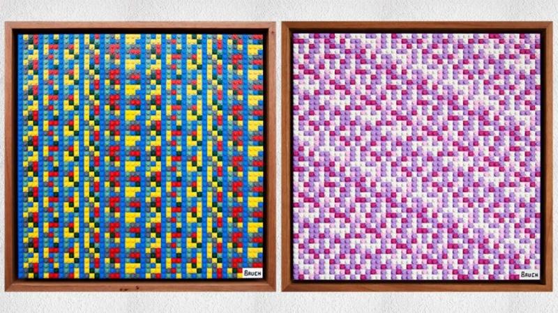 Художник зашифровал $10 000 в криптовалютах на своих картинах