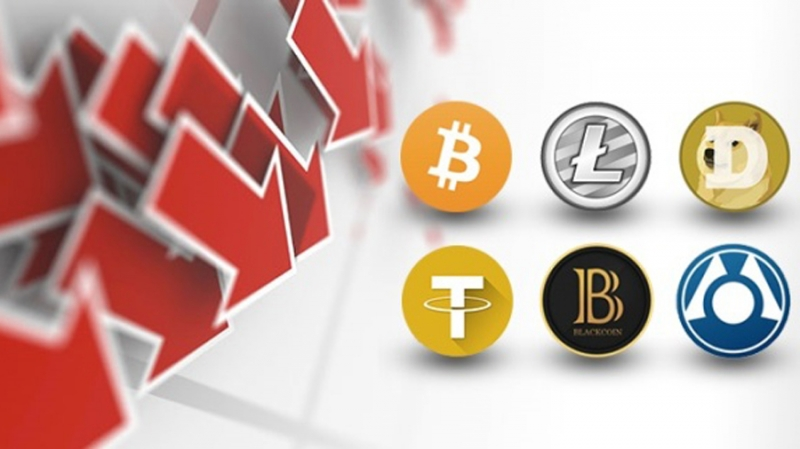 Трафик на ведущие криптовалютные биржи за февраль упал вдвое
