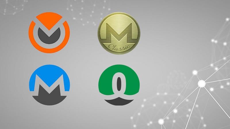 В результате хардфорка Monero появились четыре новые криптовалюты