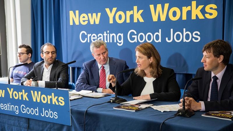 В Нью-Йорке будет создан «Центр блокчейна»