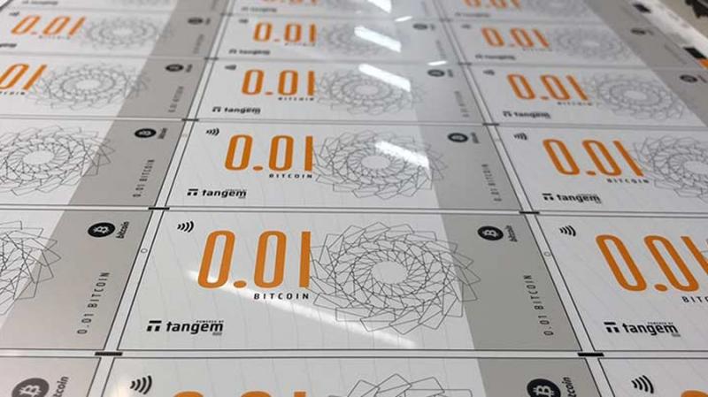 В Сингапуре выпустили «биткоин-купюры» номиналом 0.01 и 0.05 BTC