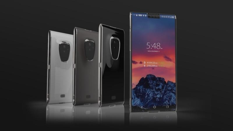 Криптосмартфон Finney получит холодный кошелек, Snapdragon 845 и 128 ГБ флэш-памяти