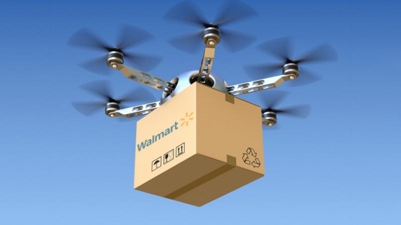 Walmart патентует автономную систему доставки  на основе блокчейна