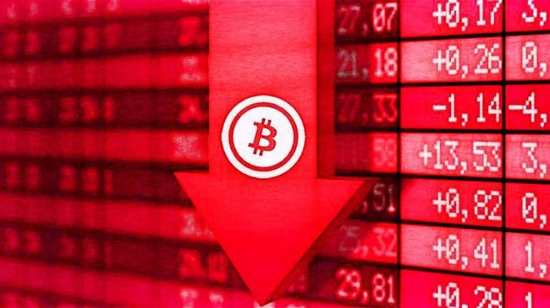 С декабря 2017 по апрель 2018 инвесторы продали биткоинов на $30 млрд
