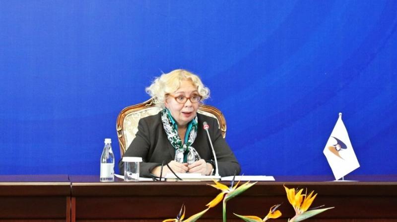 Татьяна Валовая призывает ЕАЭС развивать законодательство в сфере криптовалют