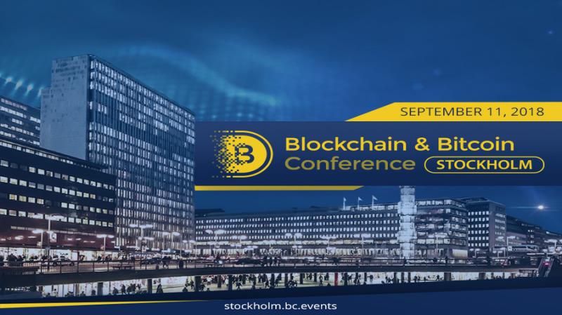 11 сентября в Швеции пройдет вторая Blockchain & Bitcoin Conference Stockholm