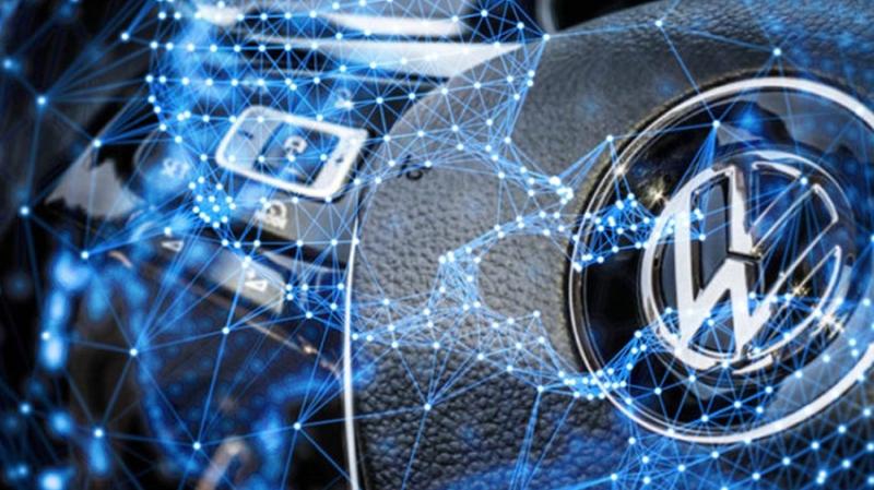 Volkswagen патентует систему оптимизации дорожного трафика на блокчейне