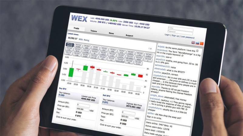 Биржа WEX опровергла информацию о продаже и выкупила большую партию токенов BTC-e