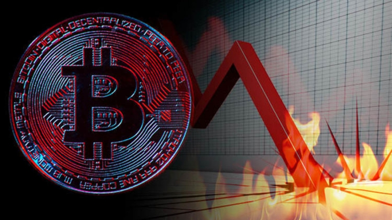 Криптовалютные рынки за сутки потеряли почти $30 млрд капитализации