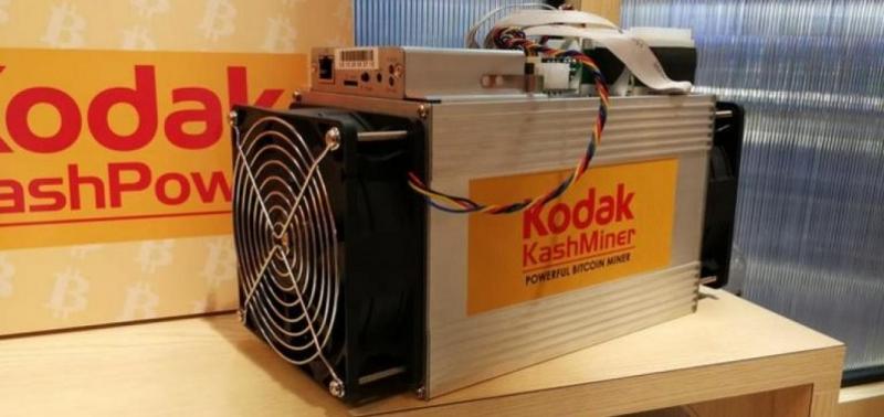 Схема майнинга под брендом Kodak провалилась
