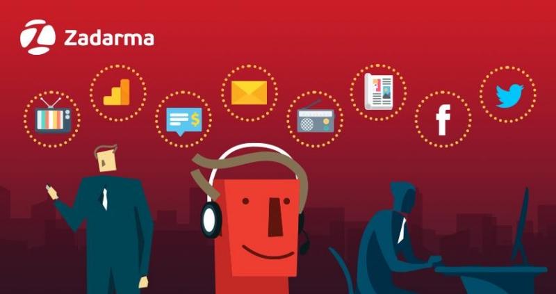 Сервис Zadarma представил бесплатный коллтрекинг